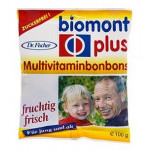 BIOMONT DR.FISCHER PLUS/MULTIVITAMINBONBONS ZUCKERFREI