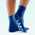 ClimaCare Fußwärmer blau M