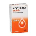 Accu-Chek Mobile Glucose Kontrolllösung